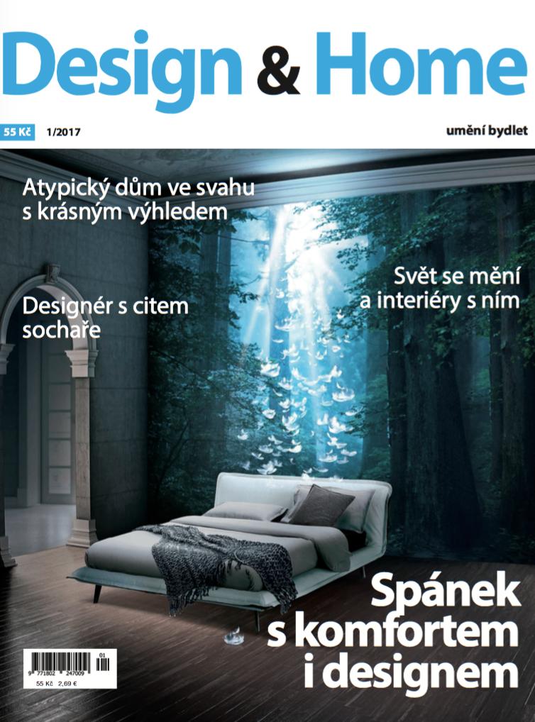 Titulní strana Design&Home 1/2017