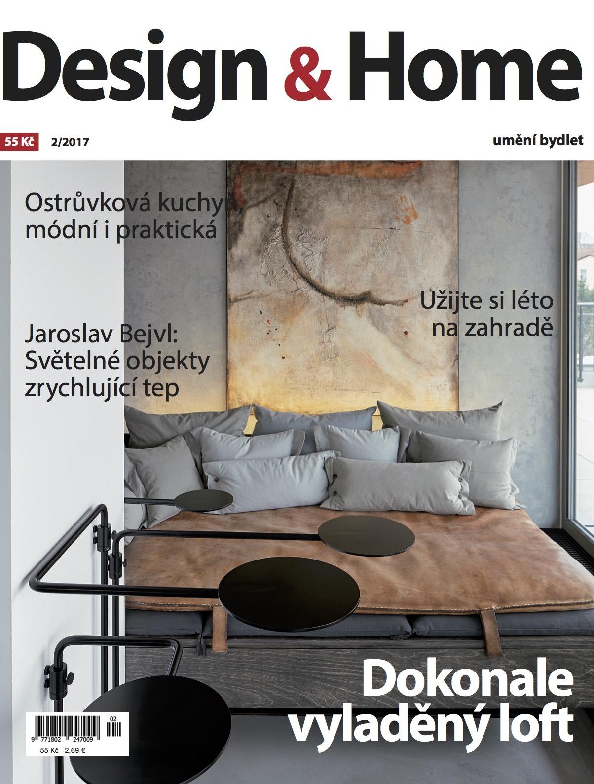 Titulní strana Design&Home 2/2017