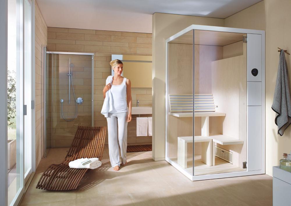 Sauna Inipi B Super Compact (design EOOS), kamna (6kW) se saunovými kameny