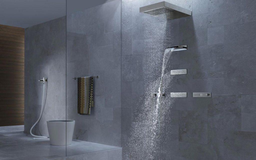 Vertikální sprcha ATT - Dornbracht