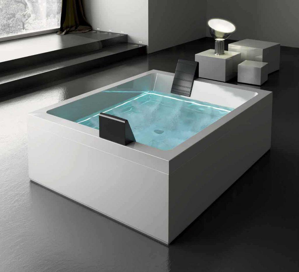 Neviditelná hydromasáž (design Marc Sadler) s pomocí Ghost systému