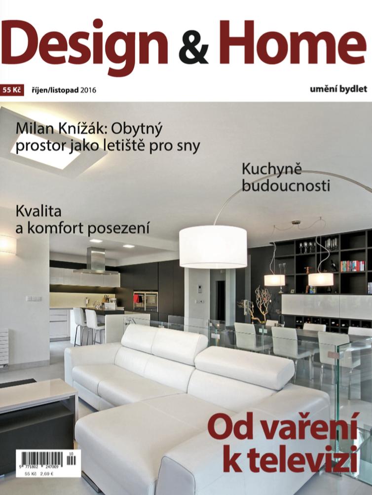 Titulní strana Design&Home 10-11/2016