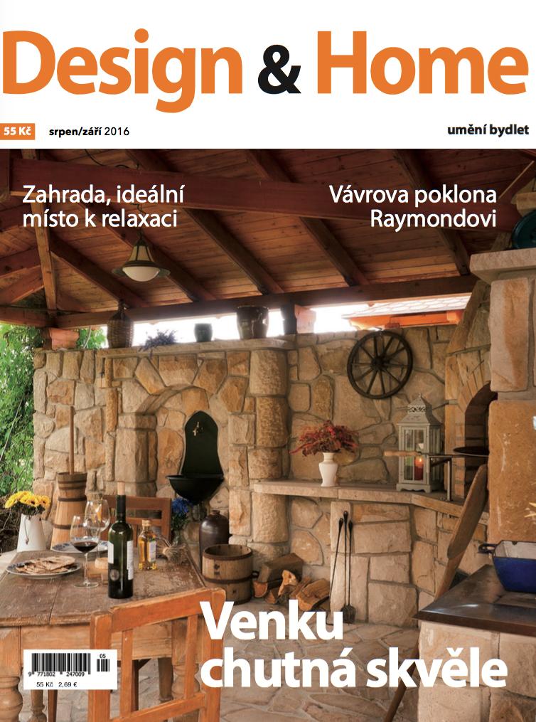 Titulní strana Design&Home 8-9/2016