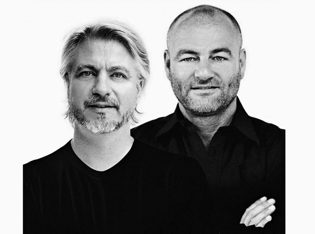 Claus Jensen a Henrik Holbaek průmysloví návrháři