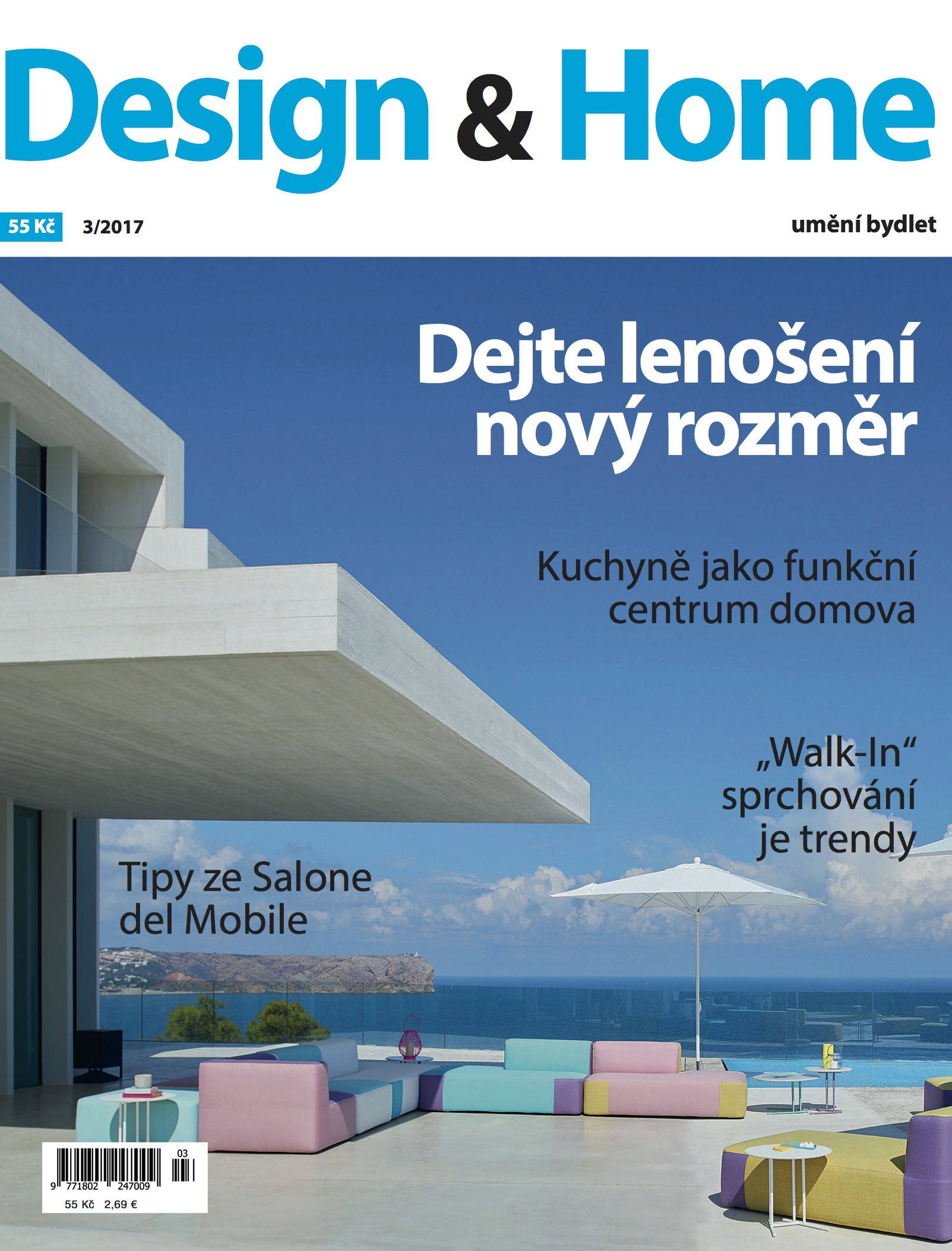 Titulní strana Design&Home 3/2017